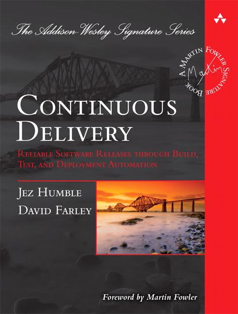 Continuous delivery book